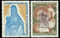 Saint Pierre and Miquelon 1975 - YT 443-44