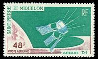 Saint Pierre and Miquelon 1966 - YT PA35