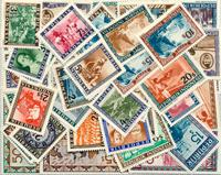Indonesien - frimærkepakke 50 forskellige postfriske