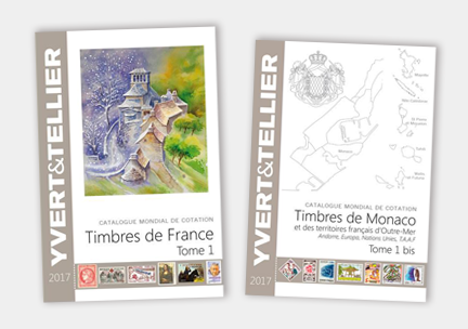Catalogues Yvert & Tellier