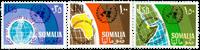 Somalia - Michel 89-91 postfrisk
