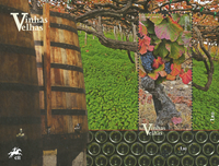 Portugal - Wine from old vines - Mint souvenir sheet