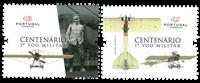 Portugal - Første militærflyvning - Postfrisk sæt 2v