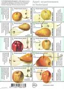 Holland - Æbler og pærer - Postfrisk ark