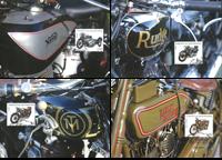 LIECHTENSTEIN - moottoripyöriä - värikkäitä maksimikortteja