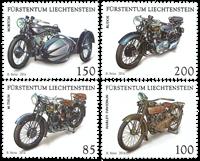 Liechtenstein - Motorcykler - Postfrisk sæt 4v