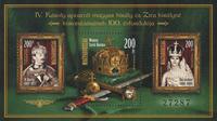 Ungarn - Helgener 2016 - Postfrisk miniark