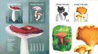 Finland - Mushrooms - Mint booklet