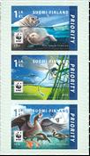 Finland - Truede Dyr - Postfrisk sæt 3v