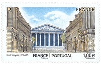 France - Joint issue with Portugal - Mint stamp