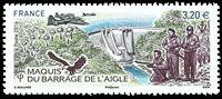 France - Maguis Du Barrage - Mint stamp