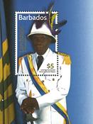 Barbados - Cultural festival - Mint souvenir sheet