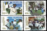 Barbados - Cultural festival - Mint set 4v