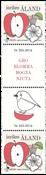 Åland - SEPAC Årstider - Gutterpair postfrisk