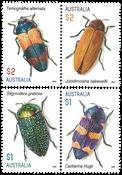 Australia - Jewel Beetles - Mint set 4v