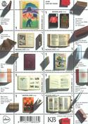 Holland - Bogens år - Postfrisk ark 10v