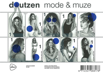 Holland - Mode og muser - Postfrisk ark
