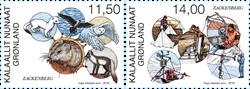 Grønland - Zackenberg - Postfrisk sæt 2v