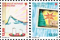 Groenland - Kerstmis 2016 - Postfrisse set van 2