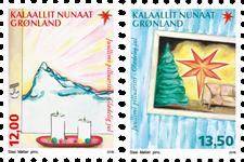 Grønland - Jul 2016 - Postfrisk sæt 2v