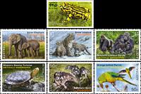Australia - Endangered Wildlife - Mint set 7v