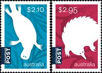 Australia - Monotremes - Mint set 2v