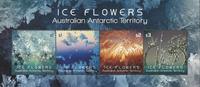 Australian Antarctic - Ice Flowers - Mint souvenir shet
