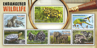 Australia - Endangered Wildlife - Mint souvenir sheet