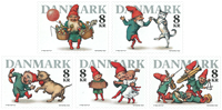 Denmark - Christmas 2016 - Mint set 5v
