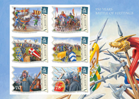 Alderney - Battle of Hastings - Mint souvenir sheet