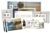 Isle of Man - 300 Years of the Royal Artillery - Mint prestige booklet