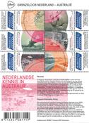Holland - Grænseløse Holland - Postfrisk miniark