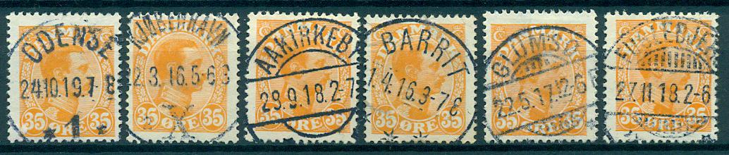 Danmark - Samling - 1913