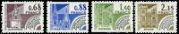 Frankrig - YT 162-65 - Forudannulleret