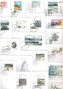 Grønland - 21 forskellige førstedagskuverter
