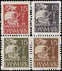 Danmark - Karavel - Samlet tilbud - 4 enkeltmærker
