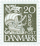 Danmark - AFA nr. 204A - Stålstik