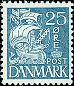 Danmark - AFA nr. 205 - Stålstik