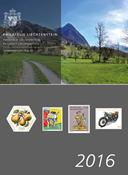 Liechtenstein - Yearbook 2016 - Mint stamp
