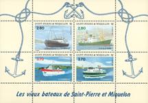 St. Pierre & Miquelon 1994 - YT BF4 - Skibe