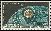 St. Pierre & Miquelon 1962 - YT PA29 - Telekommunikation