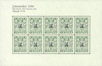Nytryk juleark 1979/1906
