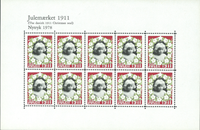 Nytryk juleark 1978/1911