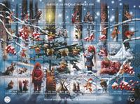 Danmark - Julemærket 2016 - Postfrisk sæt med 50 mærker