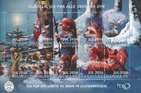 Danmark - Julemærket 2016 - Postfrisk hæfte med 10 mærker