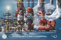 Danmark - Julemærket 2016 - Postfrisk hæfte med 30 mærker