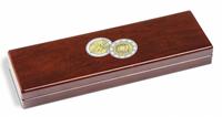 Møntetui VOLTERRA til 5 stk. 2-Euro-erindringsmønter *30 Jahre EU-Flagge* 2