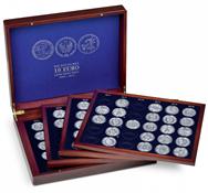 Møntkassette VOLTERRA QUATTRO til alle tyske 10-Euro erindringsmønter