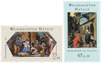 Germany - Christmas 2008 - Mint set 2v
