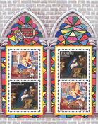 Duitsland - Kerstzegels 2001 - Souvenir velletje